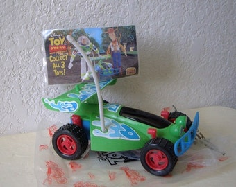 RC the racer car from Toy Story, 1996. Never used. Large size. Given out by Burger King.