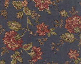 Old Cambridge Pike - Lidian in Blue by Barbara Brackman for Moda Fabrics