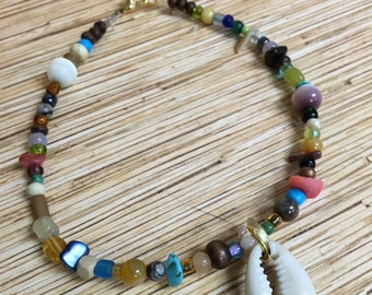 Cowry Shell Anklet