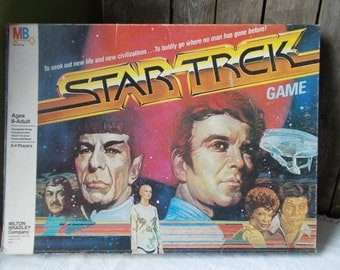 Star Trek Game Milton Bradley 1979