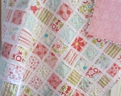 Sweet Divinity....A Fray Edge Quilt.....Baby Shower/Birthday Gift....Ready to Ship