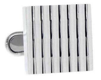 Bamboo Stripe Cufflinks