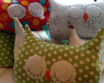Owl Pillows