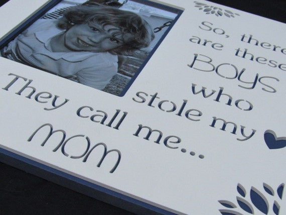 """Photo Frame With Quote"""" So, There Are These Boys Who Stole"""