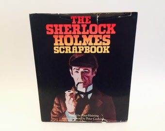 Vintage Book The Sherlock Holmes Scrapbook 1974 Hardcover