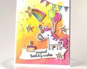 Unicorn Wishes Card
