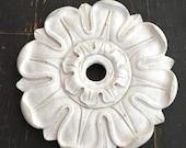 Antique Plaster Ceiling Light Medallion