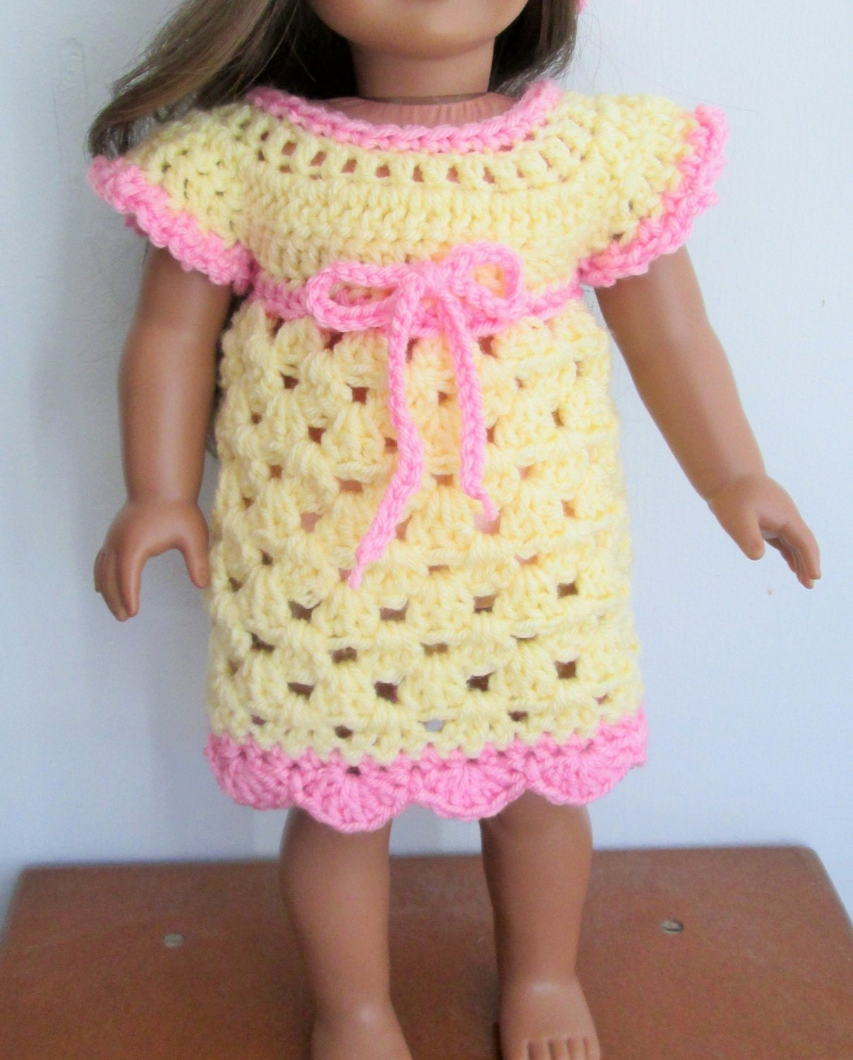 Crochet PATTERN for doll dress Instant Download