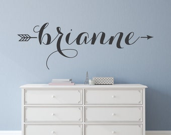 Ordinaire Name Decal   Name Wall Decal   Custom Wall Decals   Name Stickers   Wall  Decor