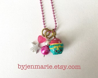 Shopkin Charm Necklace Patty Cake Season 3