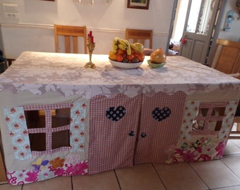 Custom made Tablecloth Playhouse