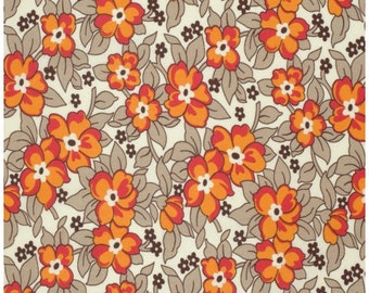 Hadley by Denyse Schmidt - Old Fashioned Floral Lantern (PWDS070.LANTE) Free Spirit - 1 Yard