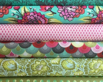 Elizabeth by Tula Pink Fat Quarter Bundle No 1