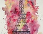 The Eiffel Tower print