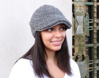Crochet Hat, Golf Hat, Visor Hat, Crochet Beanie, Adult, Crochet, Women, Teen Accessories