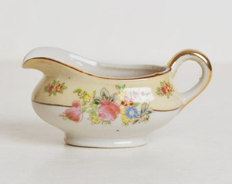 Child Size Fine China Gravy Boat Made in Japan