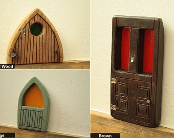 Crafted Wooden Fairy Doors
