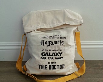 Fandom Backpack, Fandom Messanger Bag, Fandom Cross Body Bag, Geeky Backpack, Geeky Bag, Nerdy Bag, Nerdy Backpack