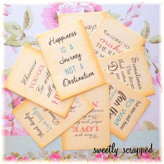 Quote pocket letter journal cards 2 1 2 x 3 1 2 for Puff and pass cover letter