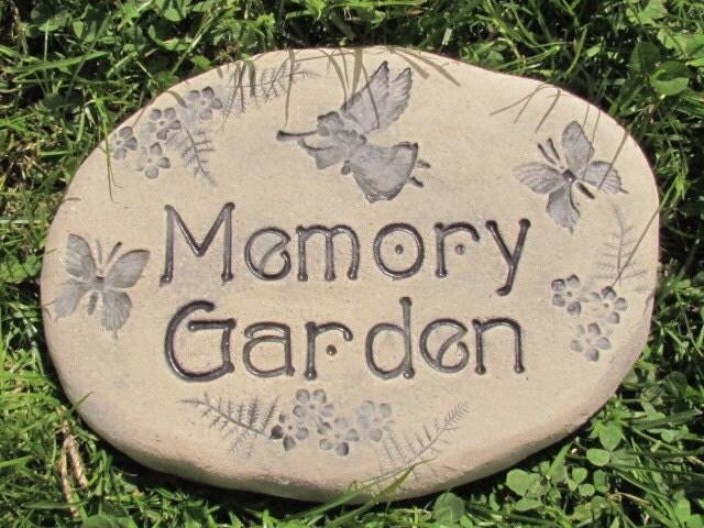 Angel Memorial Stone Personalized Angel Garden Stone Custom