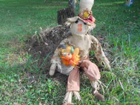 Scarecrow, FALL, Primitive Mr. Snoozles