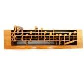 Music Art, Music Sculpture, Music Notes, Musical Notes, Sheet Music, Gift for Music Lover, Music Décor, Wood Music Art, Song Music