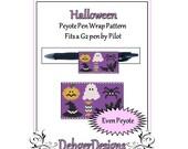 Bead Pattern Peyote(Pen Wrap/Cover)-Halloween