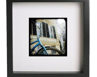 Wall Art, TTV Photography, Blue bike, Charleston SC