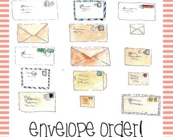 Envelopes Only!