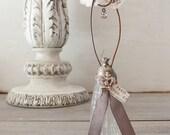 Rhinestone French Inspired Salt Shaker Inspiration Holder - Crown