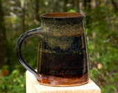 Earthy Brown Mug, 24 oz. 10%OFF, Microwave friendly, Stoneware