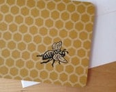 Save the Bees...Set of 8 Mini Notecards