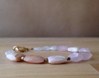Multi-Gem Bracelet...Shades of Pink