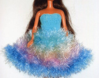 Fancy party dress for Barbie