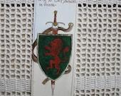 Narnian Shield - Original Hand Illustrated Bookmark Peter Pevensie