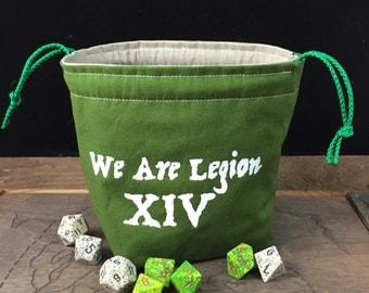 We Are Legion XIV Dice Bag