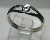 Handcrafted Sterling Silver Friendship Ring. Very Nice indeed!