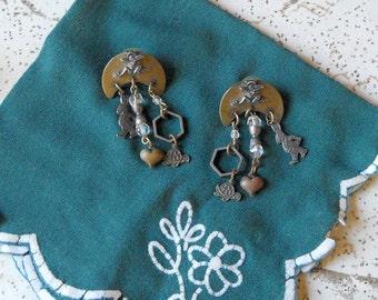 Vintage Earrings - Susan L. Richardson - FREE SHIPPING!