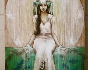 Swim Beyond - Large Giclee Print