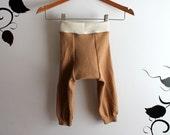 Merino wool Longies/Wool Diaper cover/Long John's Size Large