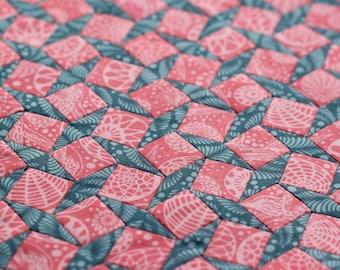 Delightful Diamond Plate - An English Paper Piecing Pattern