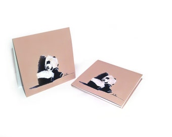 Hello Panda / Blank Note Cards