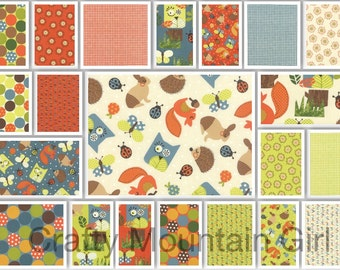 Happy Sunshine Fat Quarter Bundle by Keiki for Moda