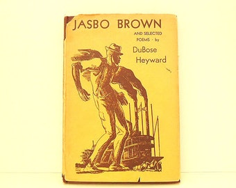 Jasbo Brown and Selected Poems by Heyward DuBose Poems Antique Classic Book Porgy African American Literature 20s 30s Antique Poetry Book