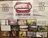2016 Calendar - Fine Art Photography - 13 Month Calendar