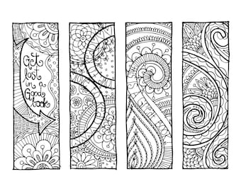 KPM Doodles Coloring page Bookmarks