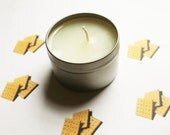 Graham Cracker Scented Candle - Vegan Candle - Homemade Candles - Natural Candles - Tin Candle - Container Candle