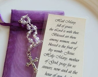Hail Mary or Our Father Mini-Rosary