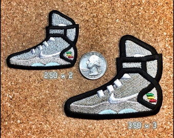 Back to the Future Air Mag inspired custom Embroidered Patch