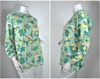 60s 70s pullover juliet bell sleeve blouse hoodie